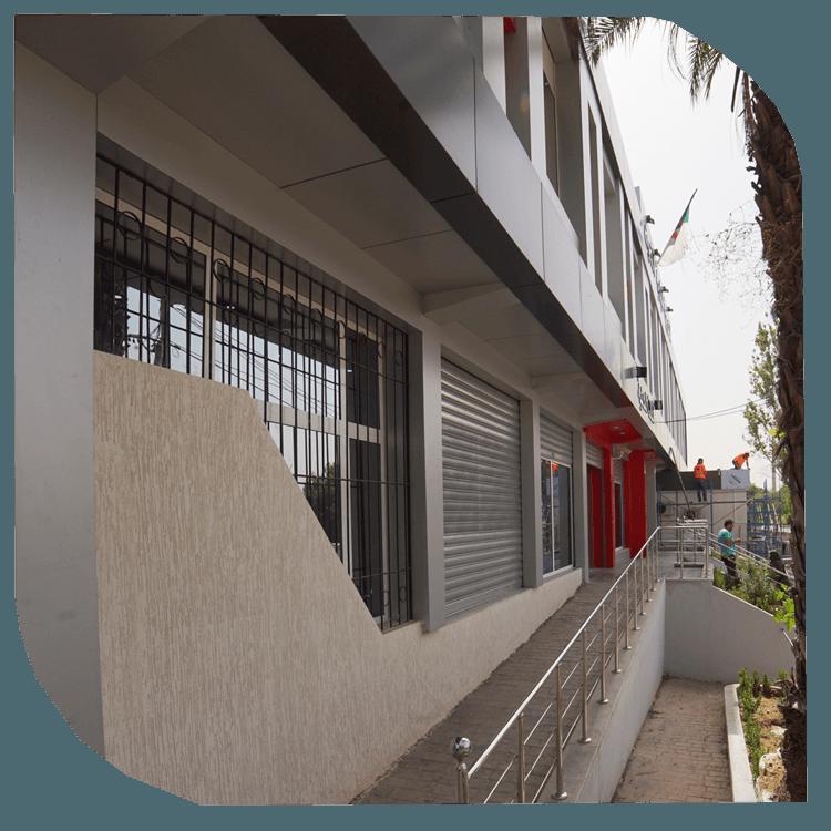 Façades ventilées : Panneaux de façade en terre cuite, grès et Pierres (naturelles ou reconstituées). entreprise de Construction Boukerzaza Constantine Algérie