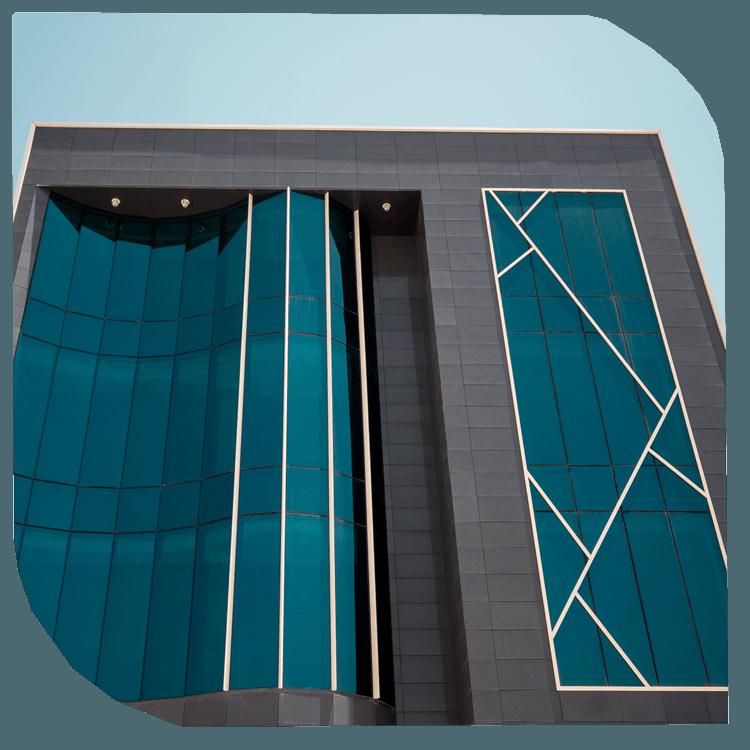 Murs rideaux et verrières en verre parclose, verre extérieur collé (VEC), verre extérieur attaché (VEA). entreprise de Construction Algérie Constantine